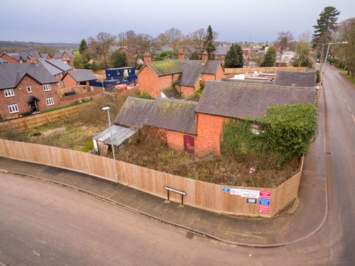 Building Plots at Roycroft Farm, Bramshall Road, Uttoxeter, ST14 7PF